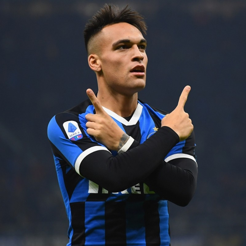 Lautaro's Authentic Inter Shirt, 2019/20 - Signed by the players