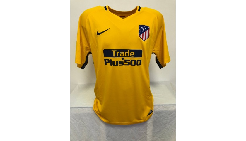 Griezmann's Official Atletico Madrid Signed Shirt, 2017/18
