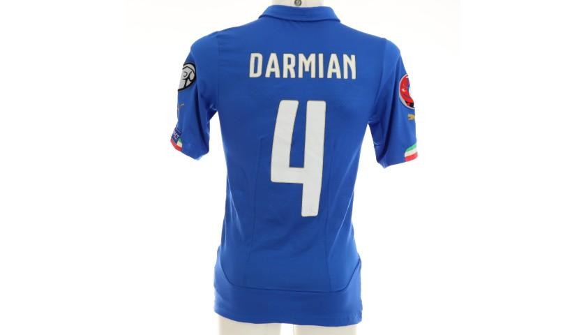 Darmian's Italy Match Shirt, Euro 2016