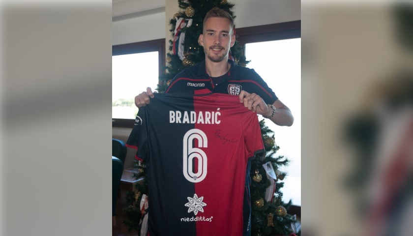 Cagliari Festive Shirt - Worn and Signed by Bradaric