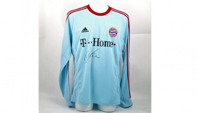 Official 2007/08 Bayern Munich Shirt Signed by Kahn