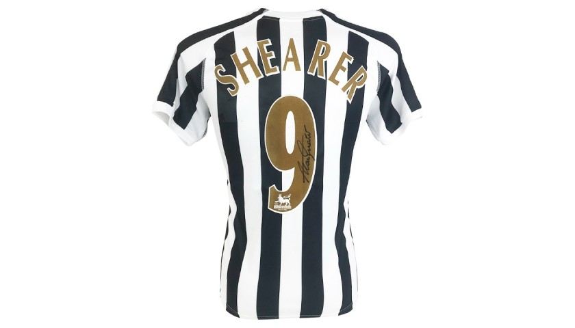 Shearer's Newcastle United Signed Shirt