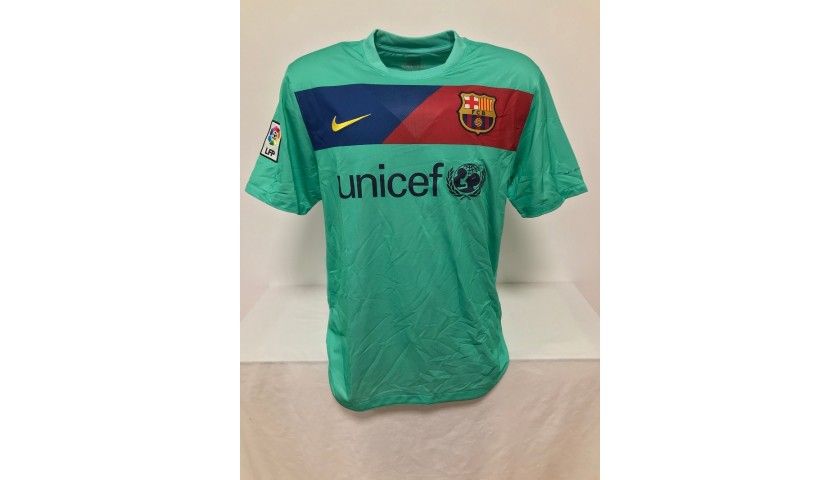 Villa's Official Barcelona Signed Shirt, 2010/2011