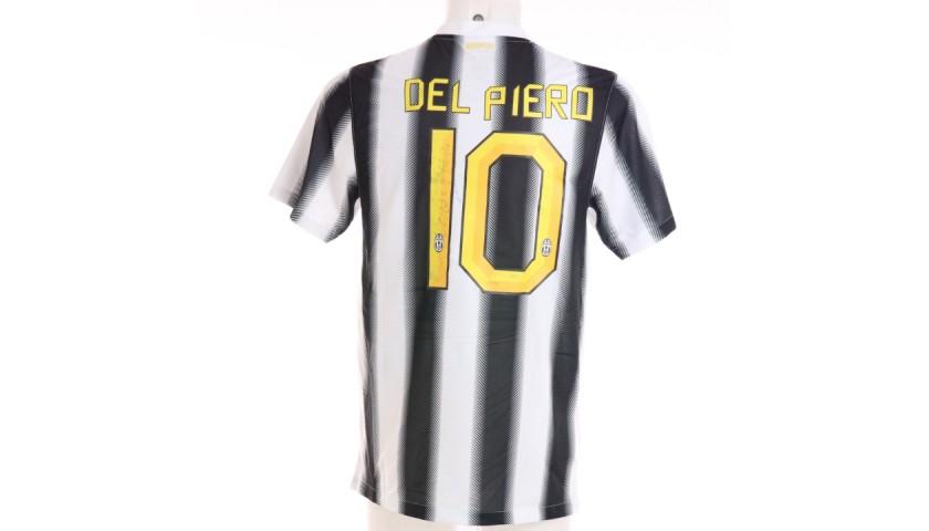 Del Piero's Official Juventus Signed Shirt, 2011/12