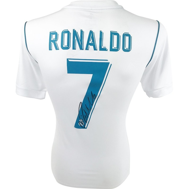 Ronaldo's Champions League Winners 2018 Signed Shirt
