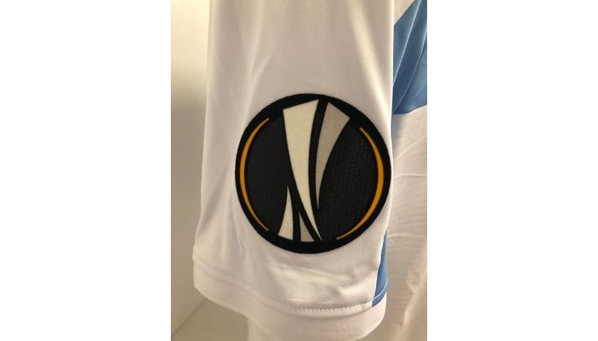 Caicedo's Signed Match Shirt, Lazio-Apollon 2018