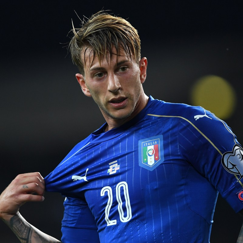 Bernardeschi's Match-Issue/Worn Shirt, Spain-Italy 2017