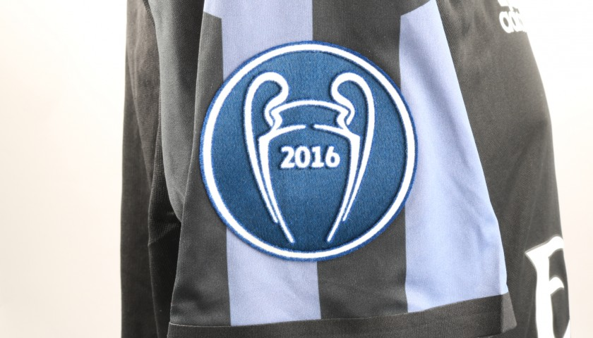 Benzema's Match-Issue/Worn Real Madrid Shirt, 2016/17 UCL