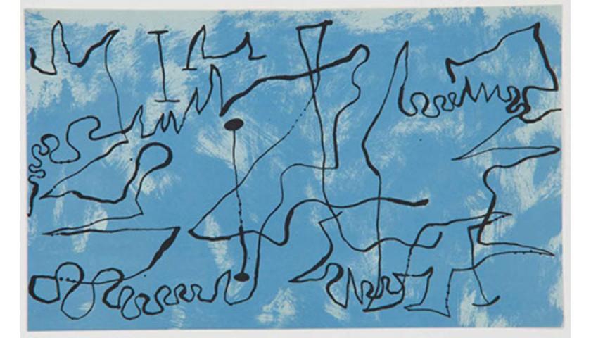 Joan Miró - Composition Blue