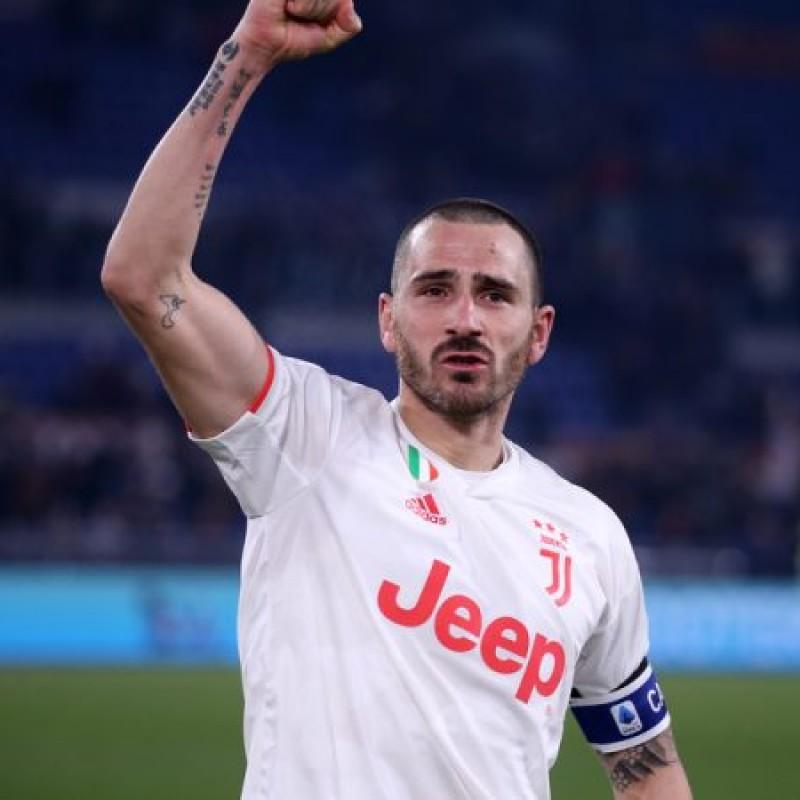 Bonucci's Official Juventus Signed Shirt, 2019/20