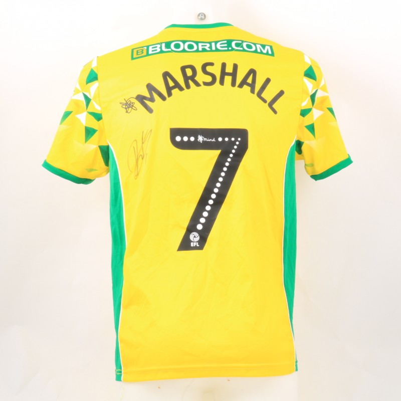 ae2d69c8e Marshall s Norwich Poppy Match Shirt - Signed
