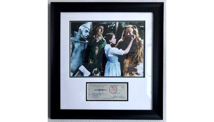 """The Wizard of Oz"" Framed and Signed Photo"