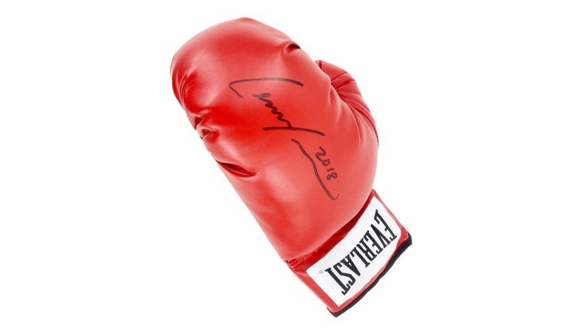 Everlast Boxing Glove Signed by Lennox Lewis