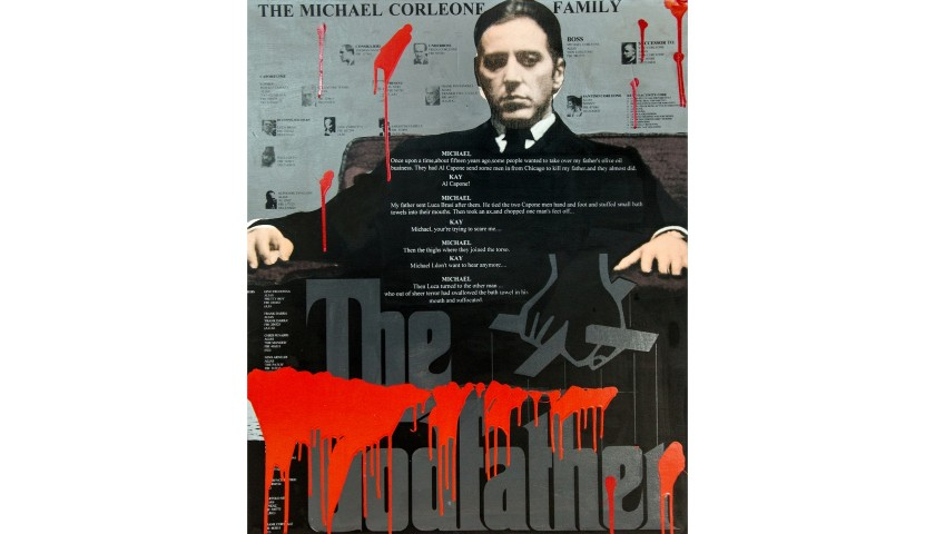 """The Godfather"" by Steve Kaufman"