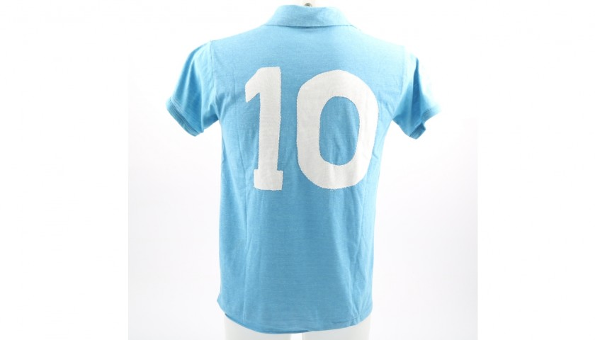 Maradona's Official Signed Napoli Shirt, 1987/88