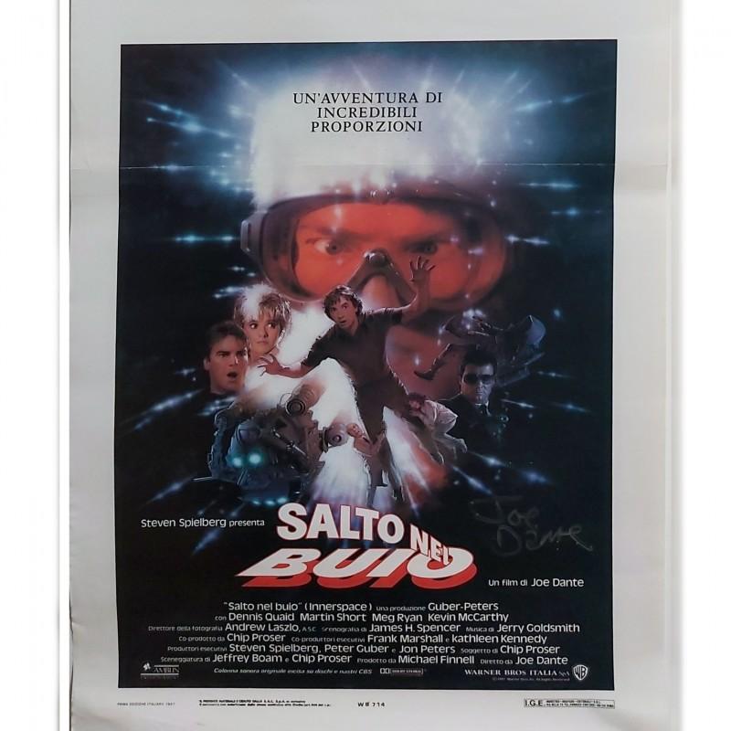 """Innerspace"" Movie Poster Signed by Joe Dante"
