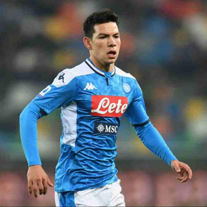 Lozano's Official Napoli Signed Shirt, 2019/20