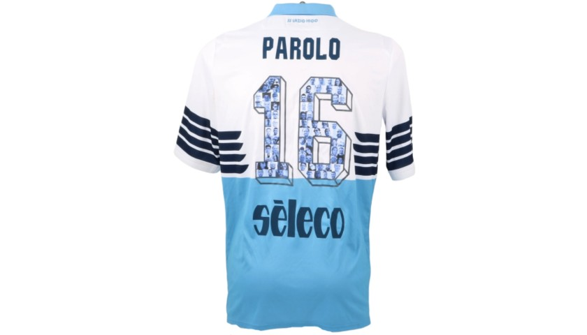 Parolo's Match Shirt, Lazio-Inter 2019 - Special Numbers