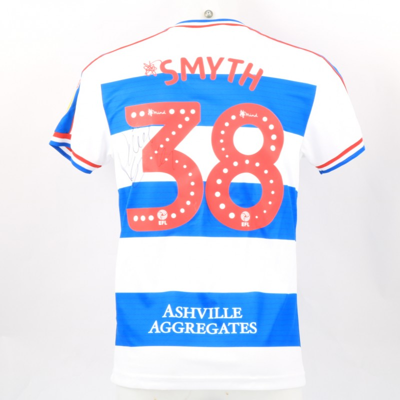Smyth's Queens Park Rangers Match-Issued Signed Poppy Shirt