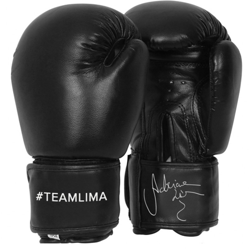 Personalized Boxing Gloves from Adriana Lima