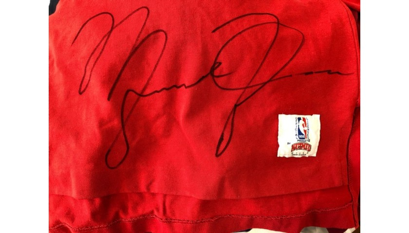 Official Chicago Bulls Polo Shirt - Signed by Jordan