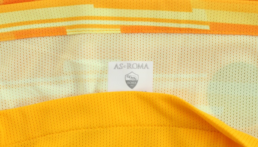 Pau Lopez's Worn and Signed Shirt, Roma-SPAL 2019