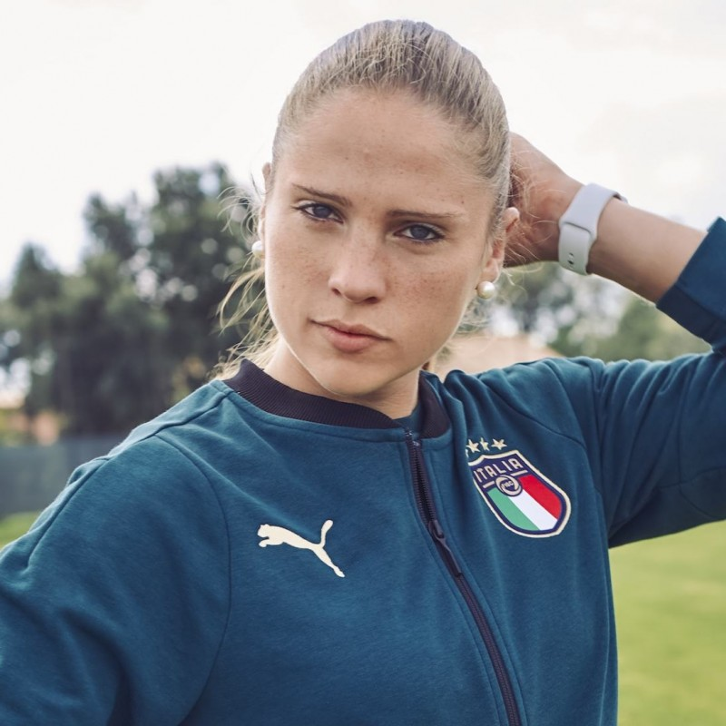 Giuliani's Italy Signed Match Shirt, Euro Qualifiers 2017