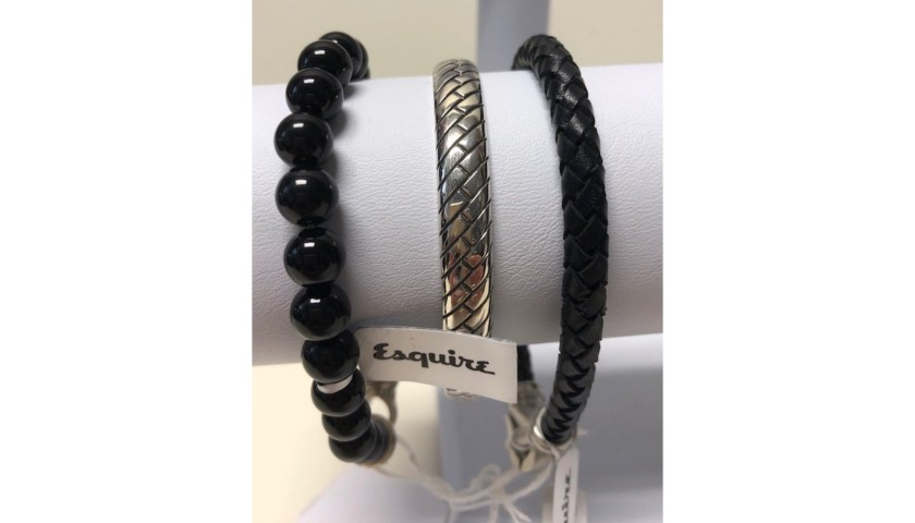 Men's Esquire Stackable Bracelets