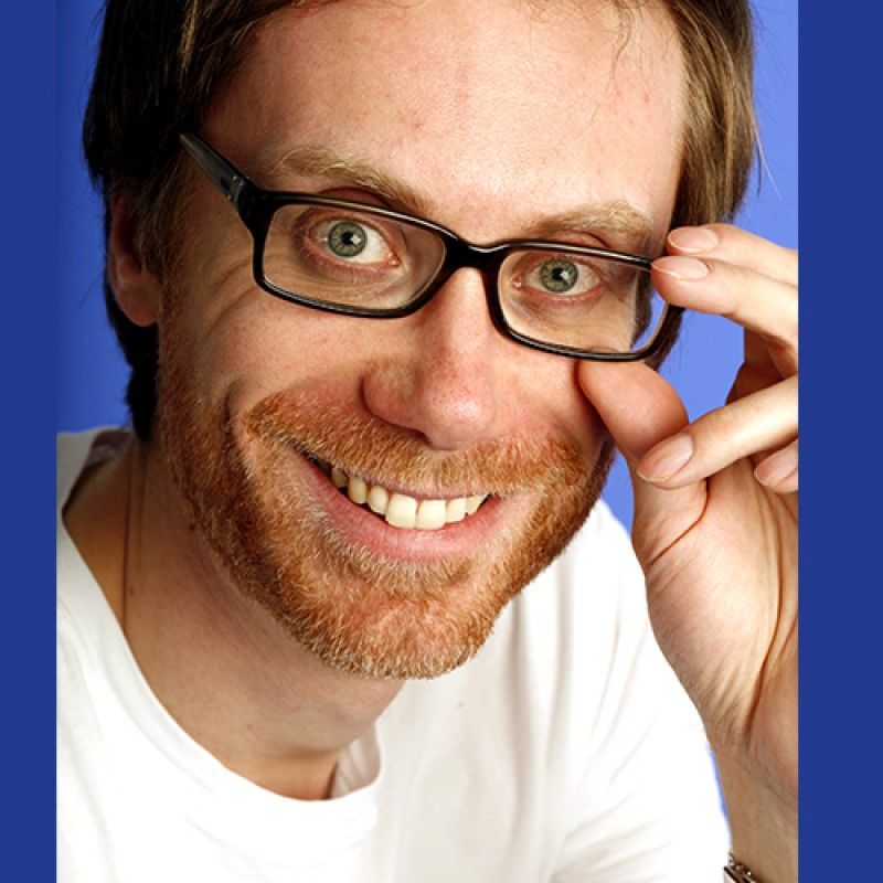 Have Lunch with Stephen Merchant On Set