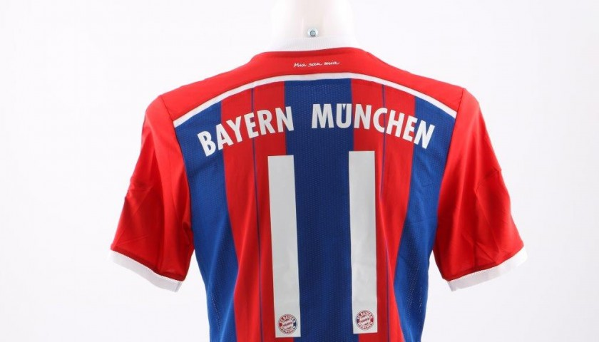 brand new 5af47 d1863 Shaqiri's Bayern Munich match issued/worn shirt, DFB-Pokal 2014/2015 -  CharityStars