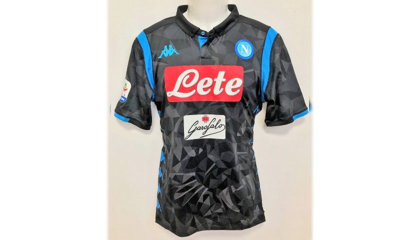 Allan's Worn Shirt, Lazio-Napoli 2018 - CharityStars