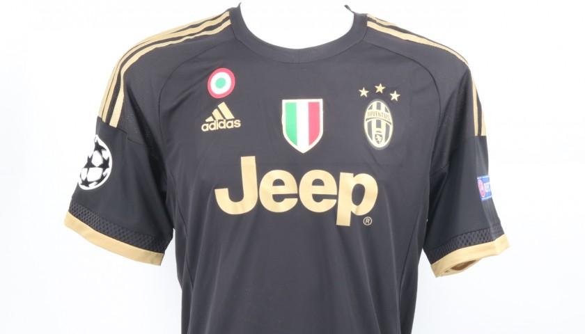 new arrival f0e3b 40f4b Pogba Juventus Issued/Worn Shirt CL 2015/16 - CharityStars