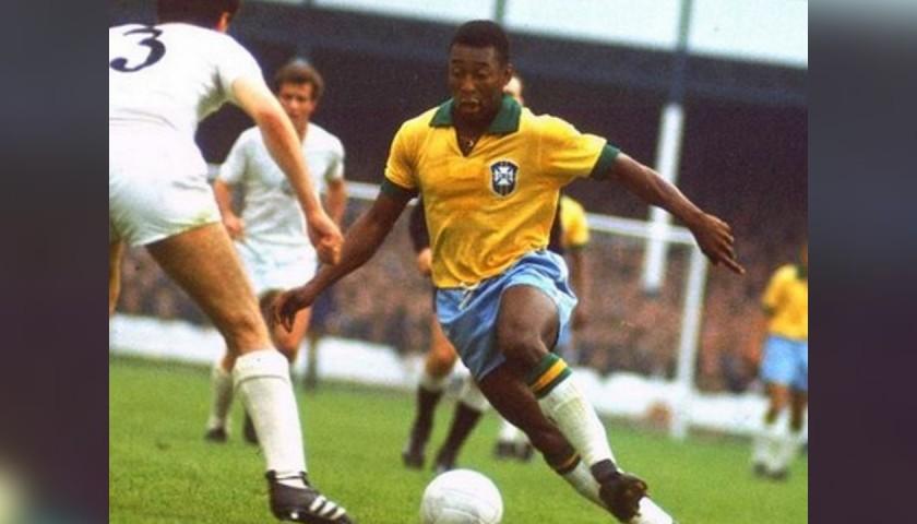 Official Brazil Cap - Signed by Pelé