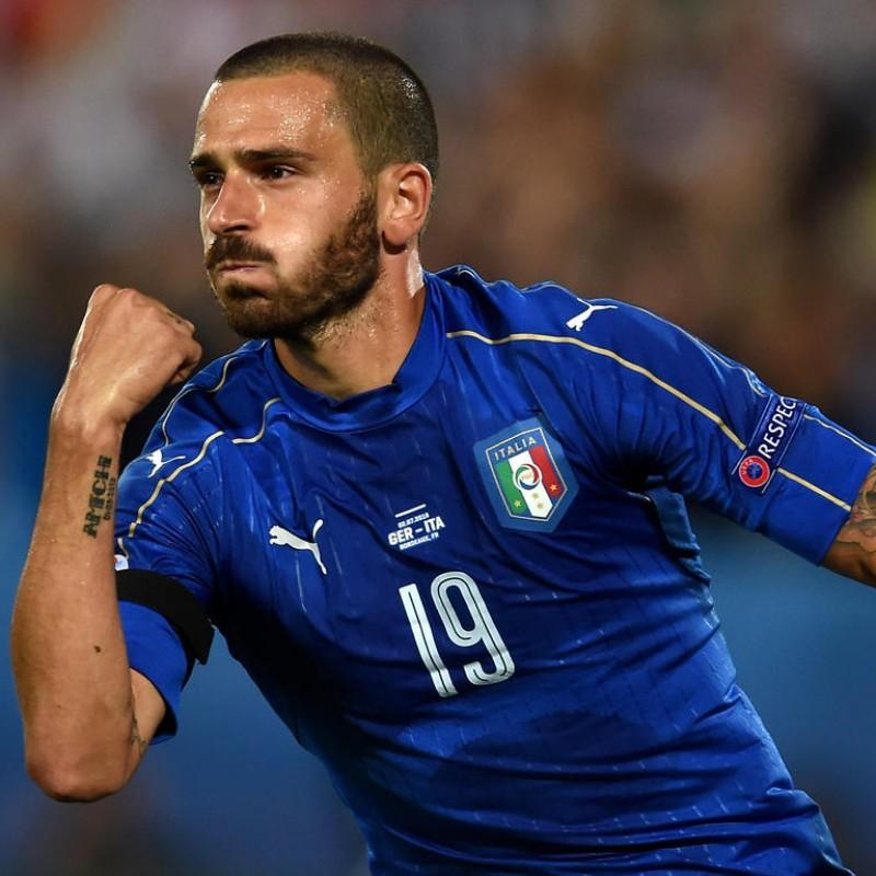 Bonucci's Match Shirt, Germany-Italy, Euro 2016