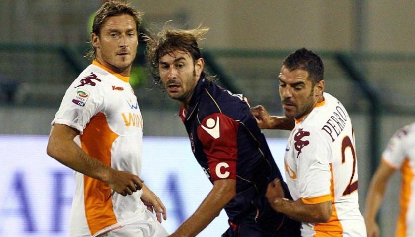 Maglia Totti Roma, indossata Serie A 2010/2011 autografata