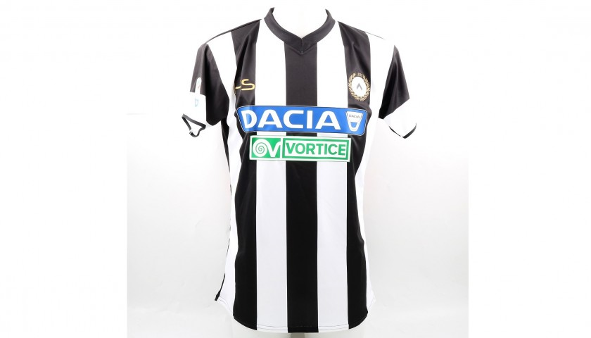 Danilo's Signed Match-Issued Udinese Shirt, 2017/18 Serie A