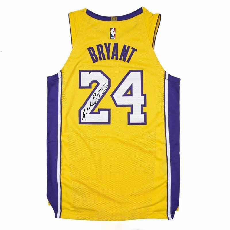 Kobe Bryant Jersey with Printed Signature - CharityStars