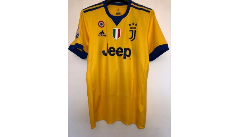 Dybala S Official Juventus Signed Shirt 2017 18 Charitystars