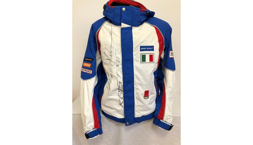 Kristian Ghedina's Official Italy Signed Jacket