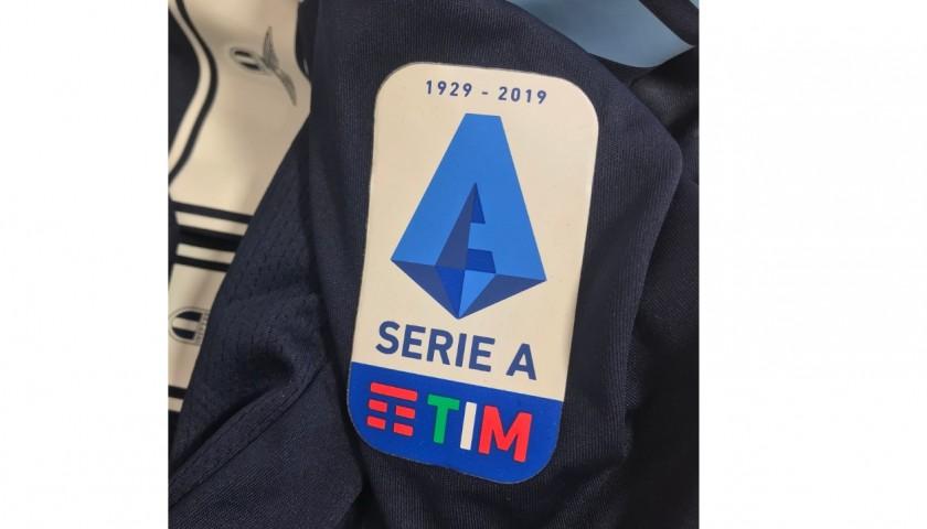 Sergej's Lazio Signed Match Shirt, Serie A 2019/20