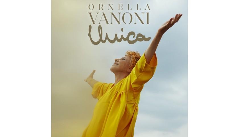 """Ornella Vanoni """"Unica"""" Signed CD"""