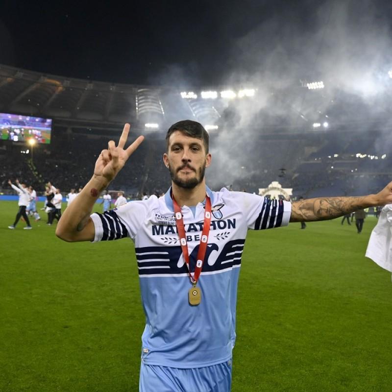 Maglia Ufficiale Luis Alberto Lazio, Finale Tim Cup 2018/19 - Autografata