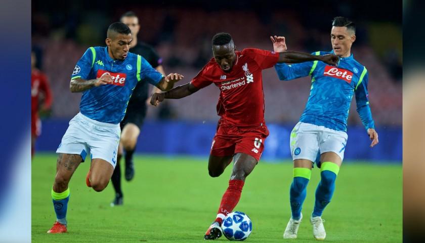 Allan s Napoli Match-Issue Signed Shirt 4464cb83b288f