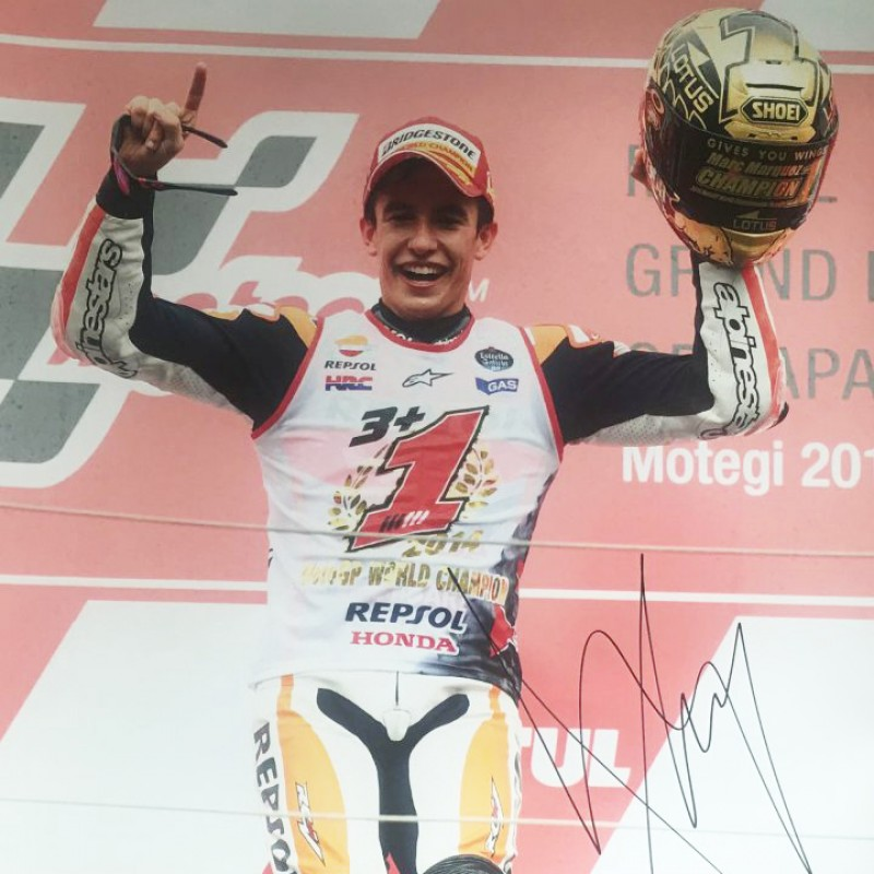 Marc Marquez Signed Photograph