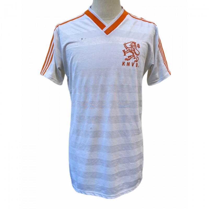 Vanenburg's Match Shirt, Spain-Holland 1987