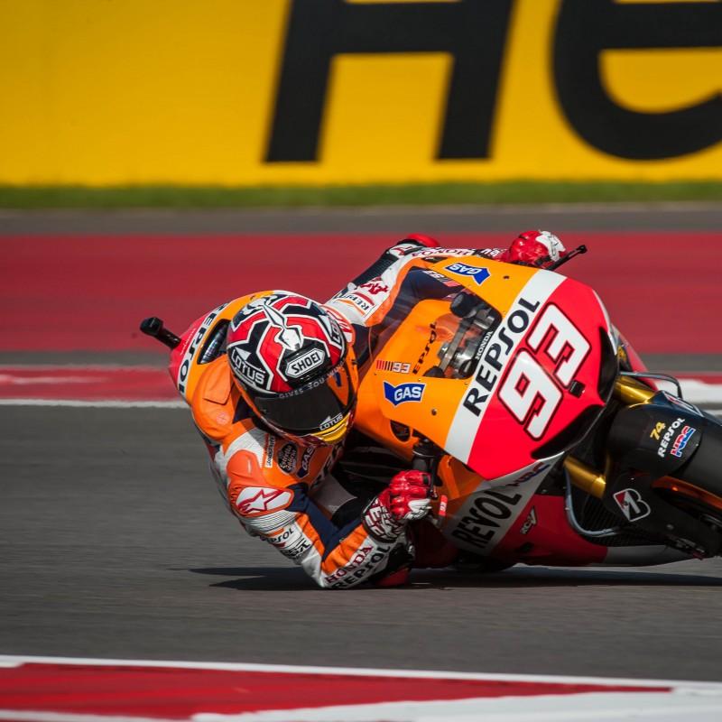 Marc Marquez Worn Knee Slider, 2015 MotoGP Season - Signed & Framed