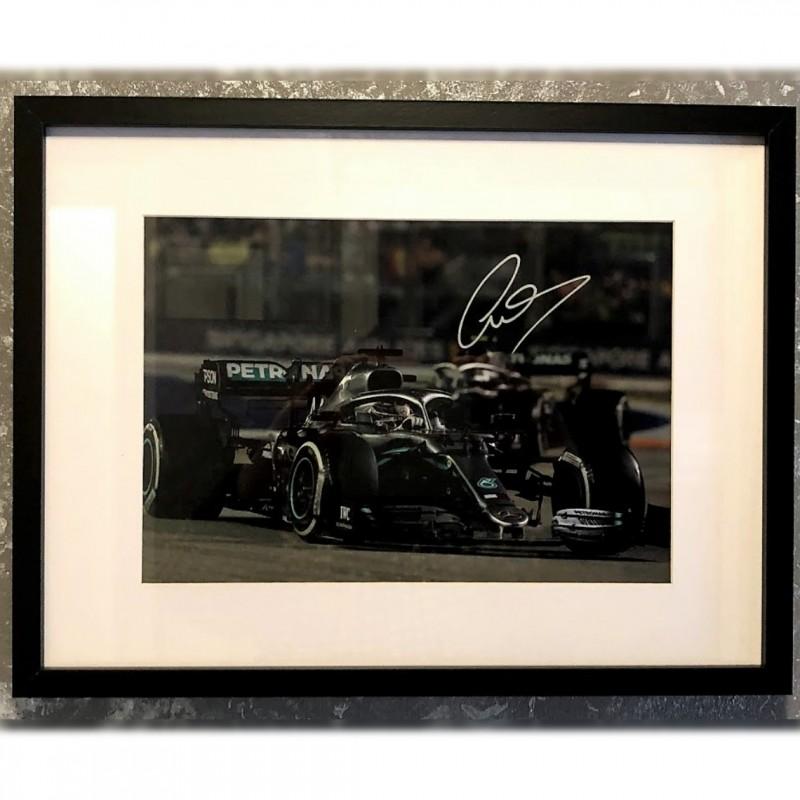 Lewis Hamilton Signed Photograph