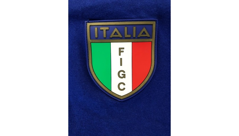 Italy Retro Football Shirt, 1982 - Signed by Paolo Rossi