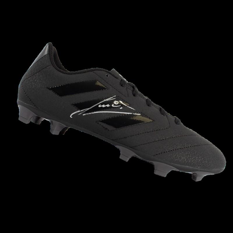 Scarpino nero Adidas firmato da Ruud Gullit