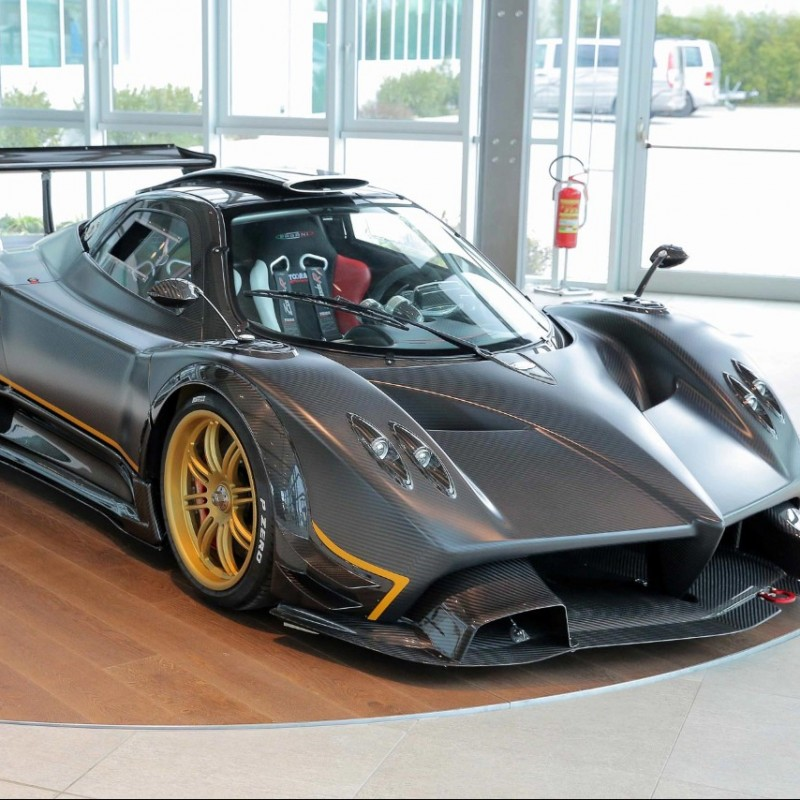 Pagani Test Drive and Factory Tour